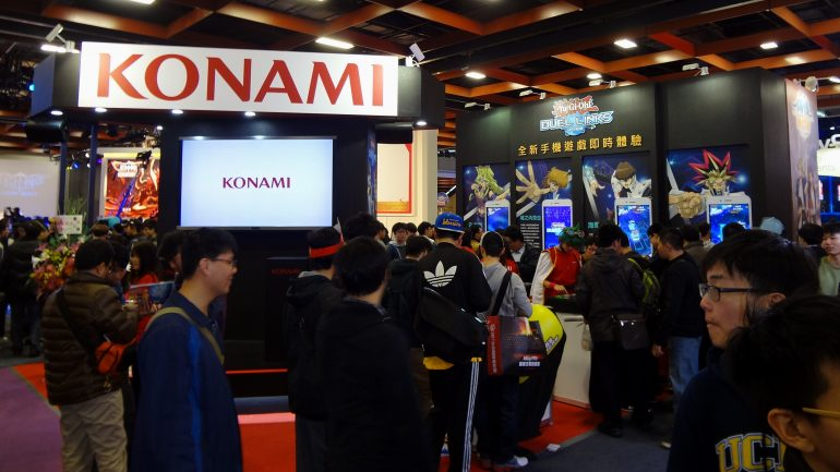 Konami_booth_Taipei_Game_Show_20170123a