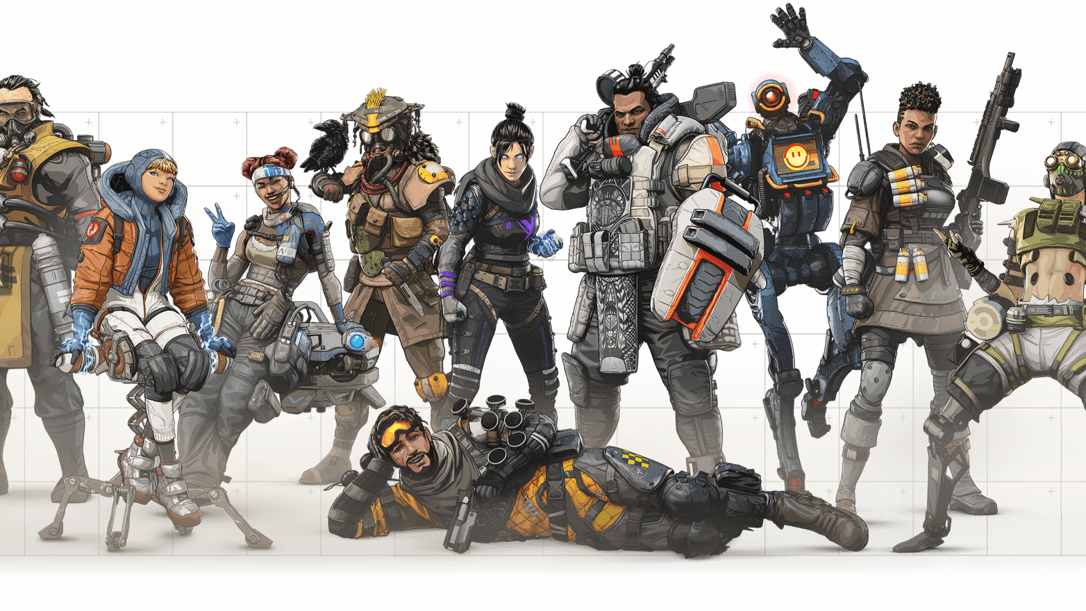 Best Apex Legends Characters Tiered Legend Rankings Dot