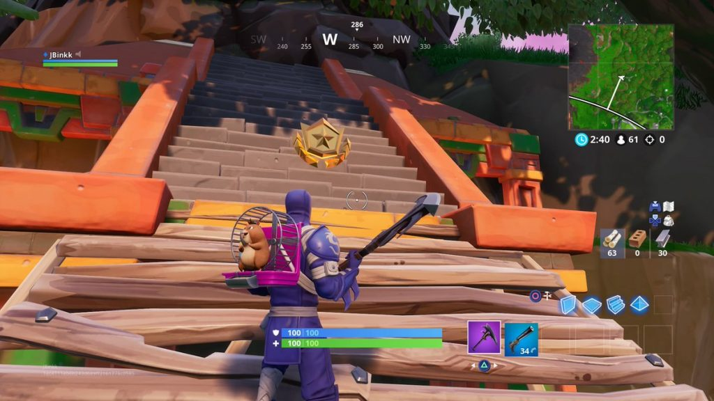 fortnite where to find the season 8 week 3 secret battle star - fortnite season 8 week 3 challenges battle star location
