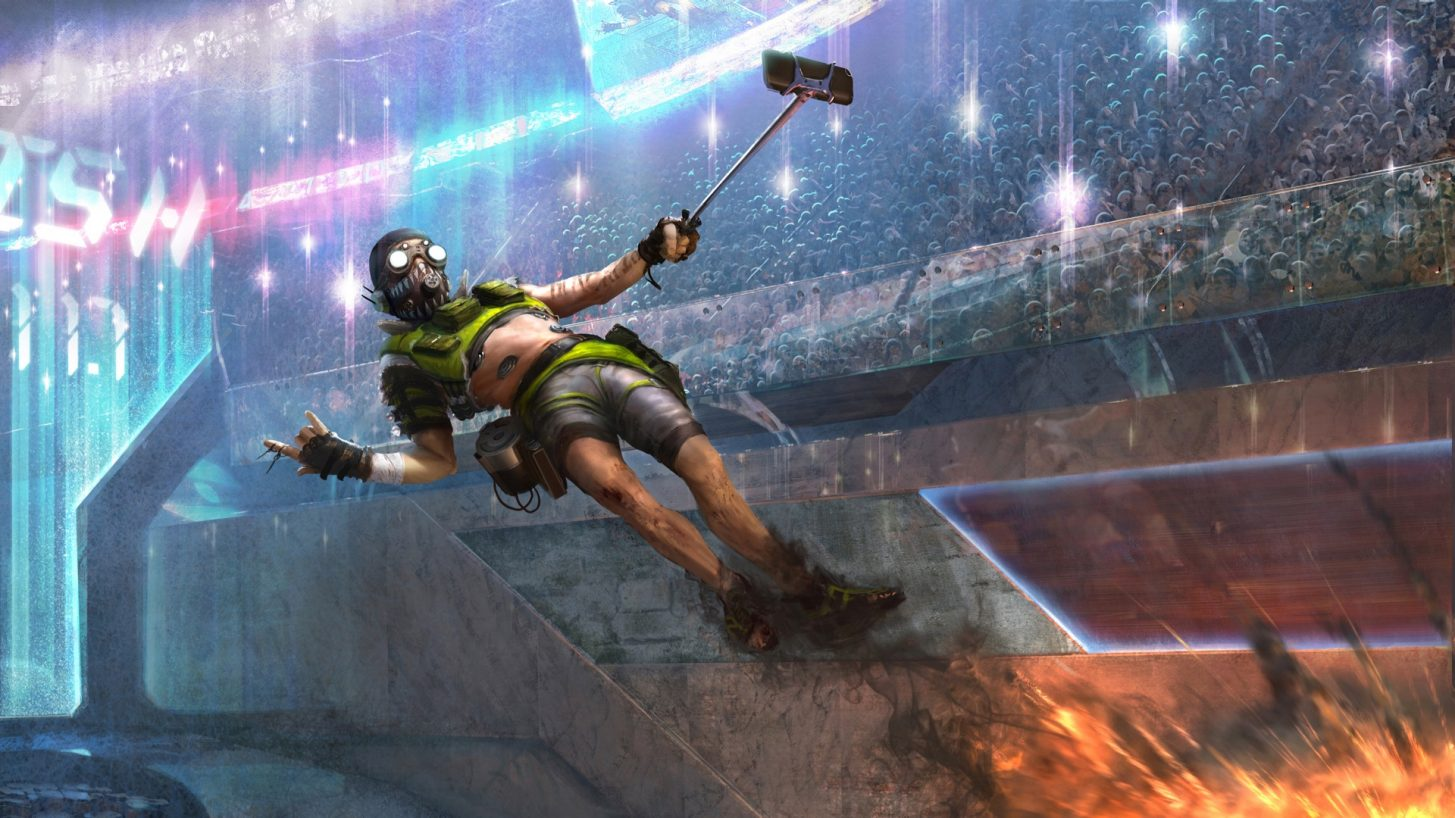 Apex Legends Player Uses A Weird Method To Replenish Body