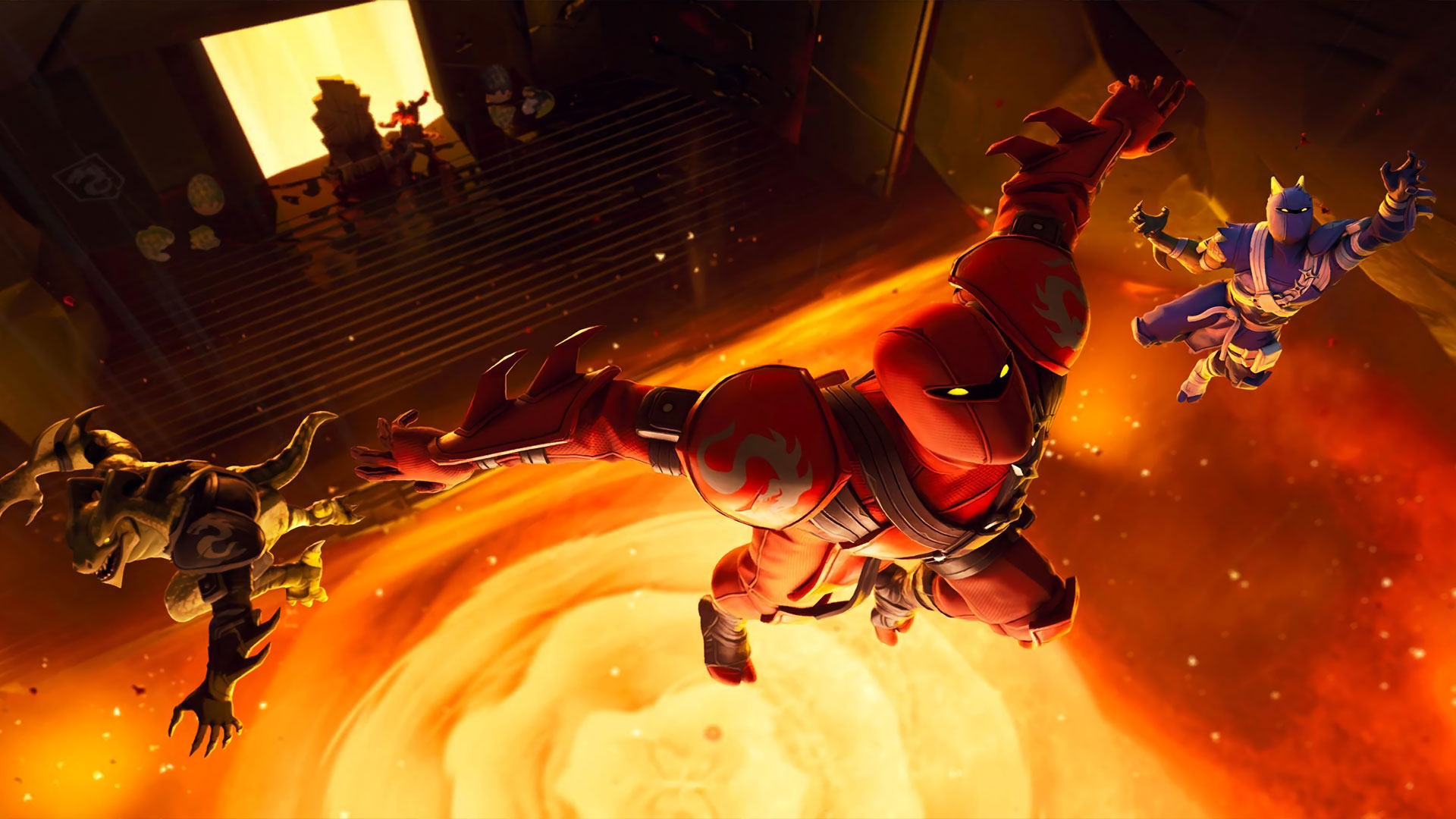 the floor is lava ltm is coming to fortnite battle royale - what is the meaning of fortnite battle royale