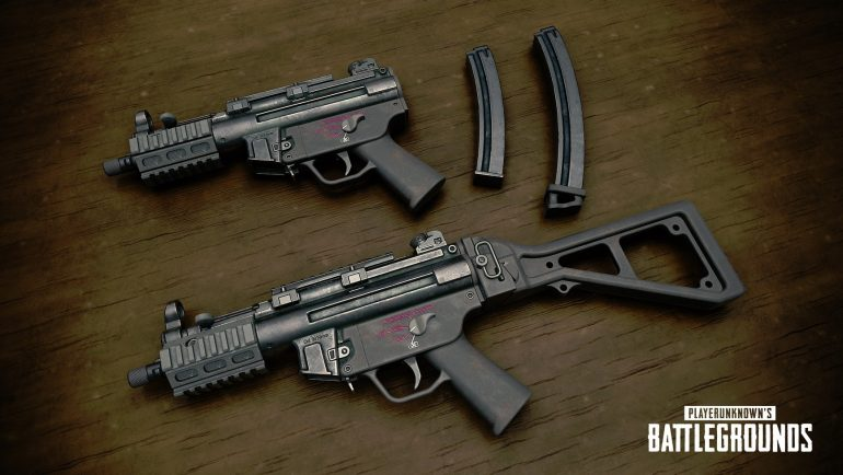 PUBG introduces MP5K, weapon balance