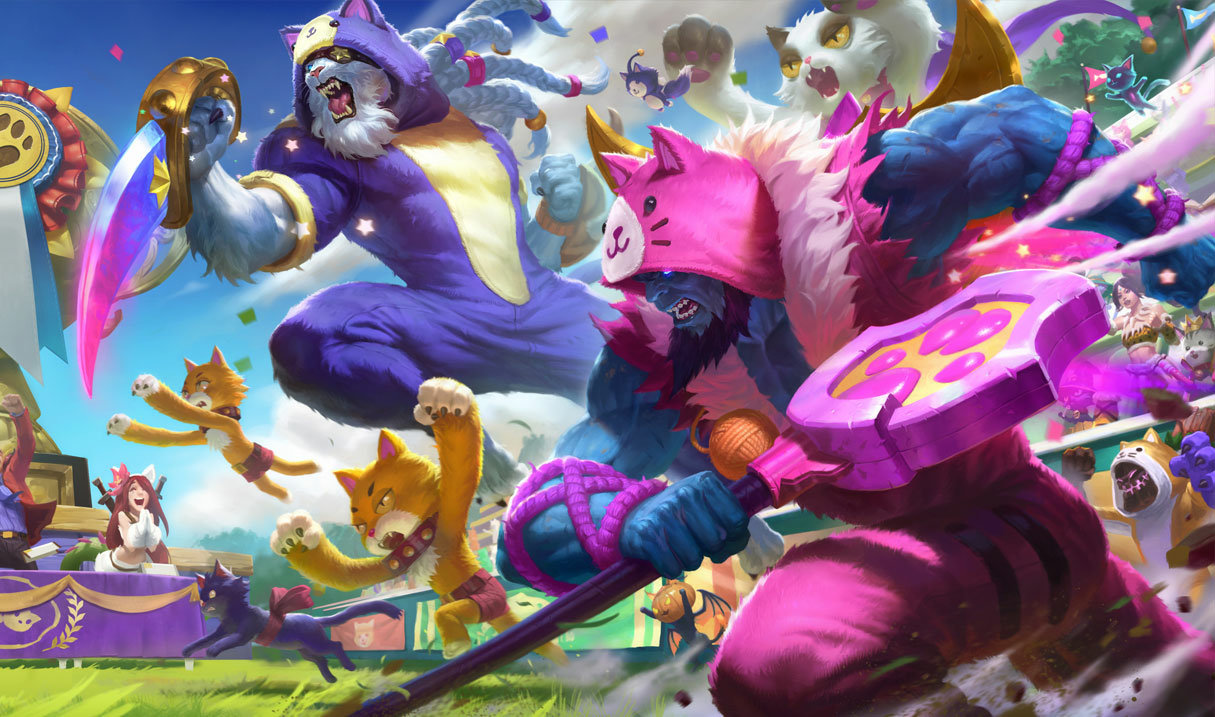 League of Legends' Cats vs  Dogs Event Mission Guide | Dot Esports