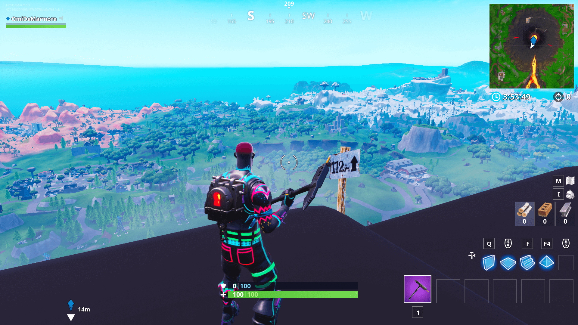 Fortnite Location Of The 5 Highest Elevations On The Island Season