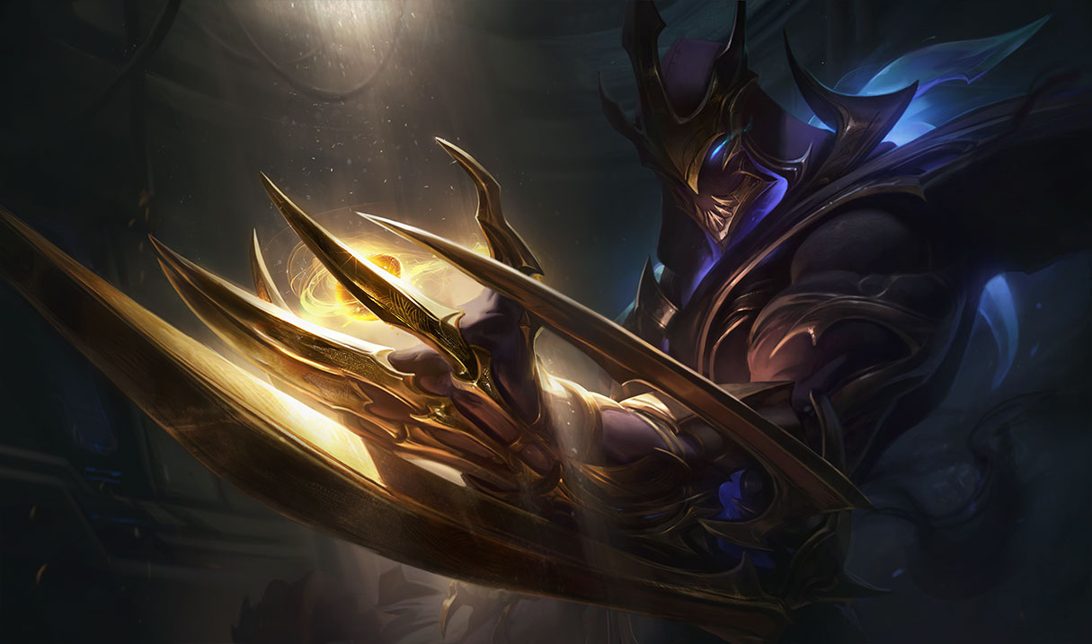 The new Galaxy Slayer Zed skin will have a voiceline in