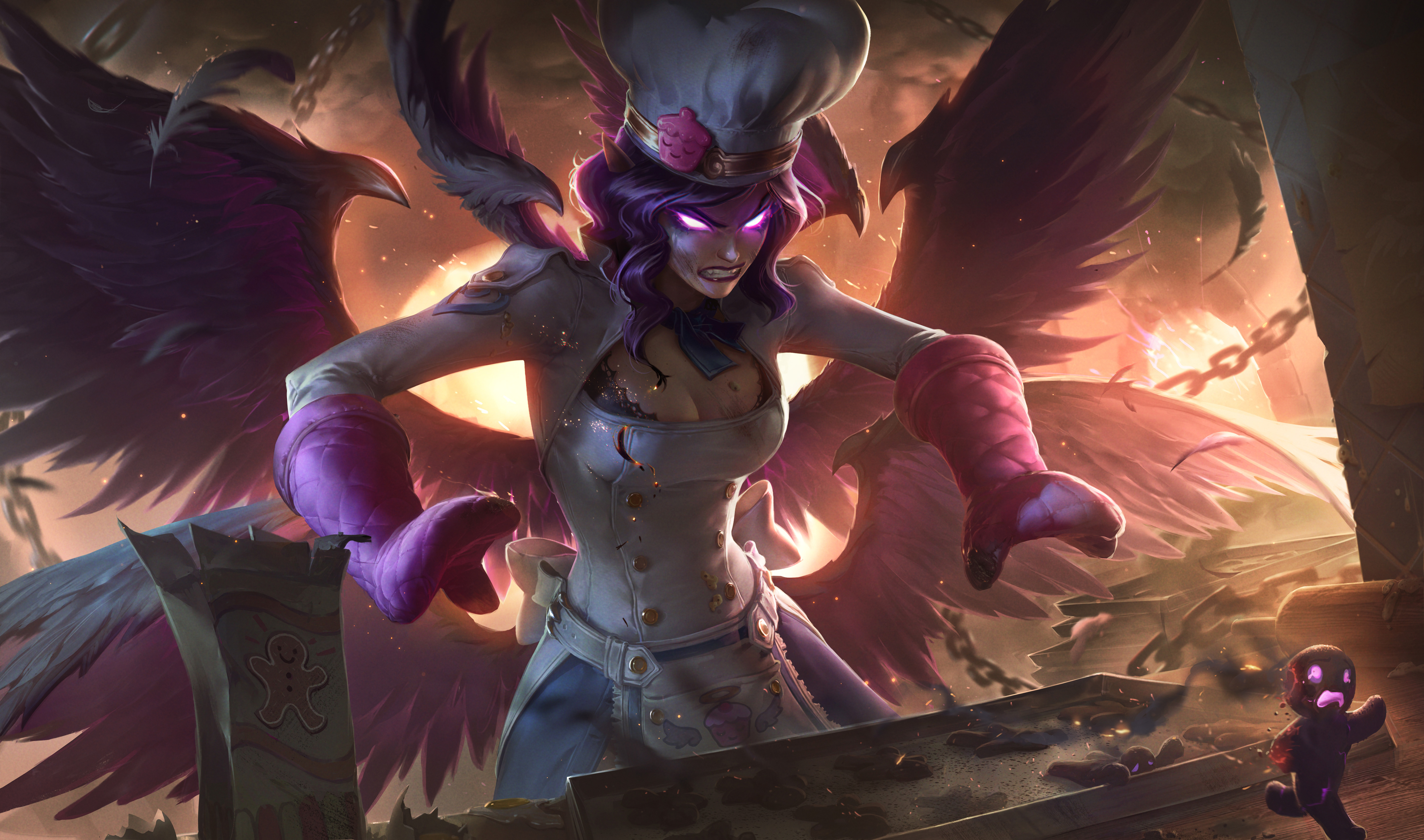 code promo 6c81d 6d9b7 Morgana gets a big nerf in League of Legends' latest PBE ...