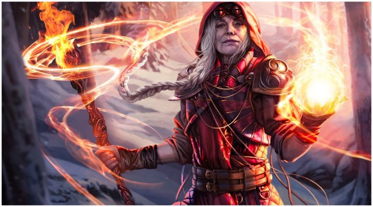 Jaya returns in War of the Spark as planeswalker and instant card