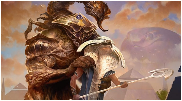 God-Eternal Rhonas comes to green in MTG War of the Spark
