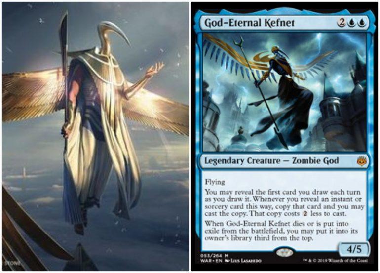 God-Eternal Kefnet spoiler card in MTG War of the Spark