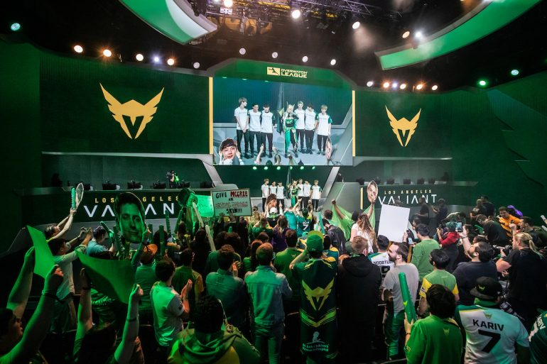 Los Angeles Valiant entrance