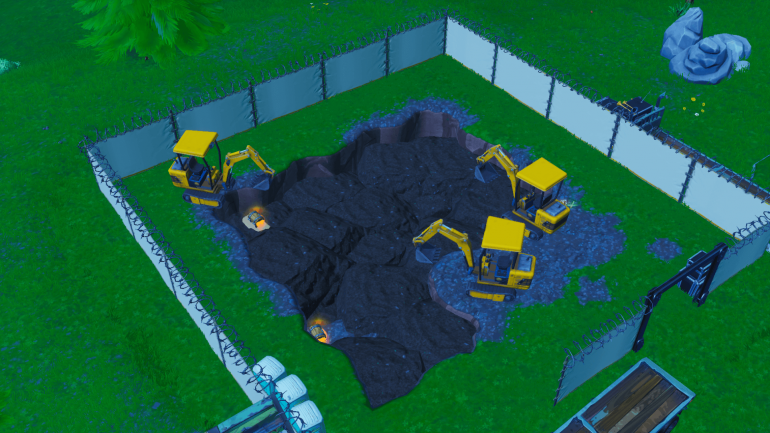 New Fortnite excavation site seems to be in the center of