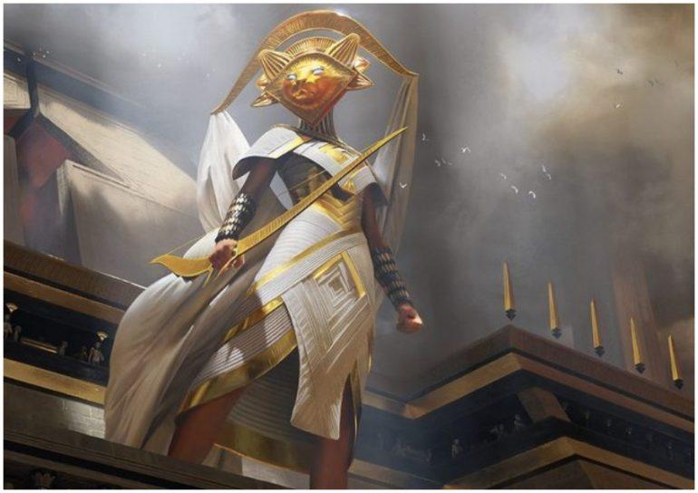 God-Eternal Oketra MTG War of the spark spoiler