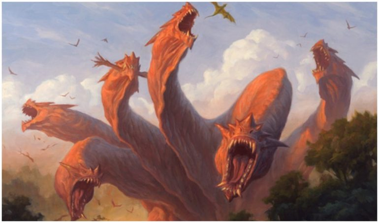 Hydra's in Magic the Gathering and MTG Arena