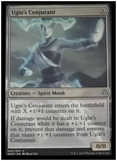 Ugin's Conjurant MTG War of the Spark spoiler
