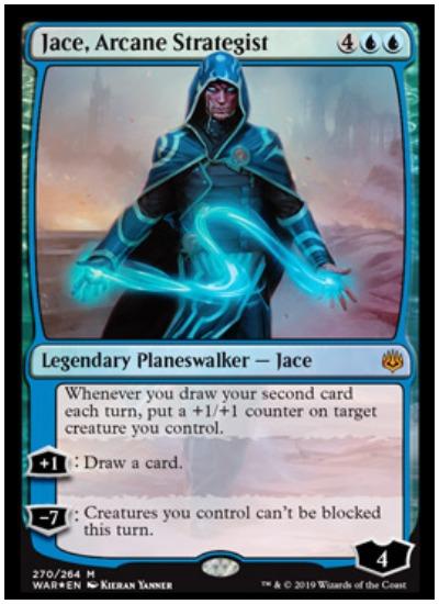 Jace, Arcane Strategist MTG War of the Spark Planeswalker