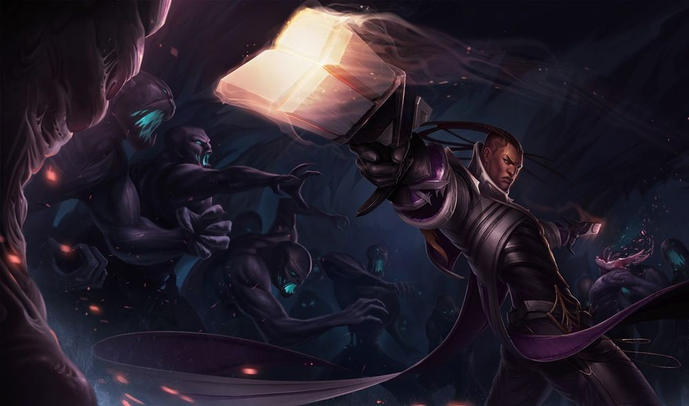 This Dark Star Lucian skin concept is insanely cool | Dot