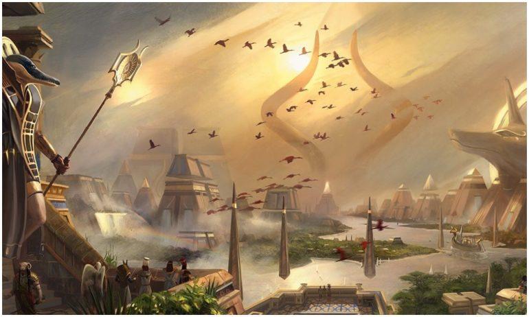 Gods of Armonkhet MTG War of the Spark turned into God-Eternals
