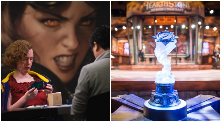 Magic The Gathering Mythic Championship and Hearthstone World Championship