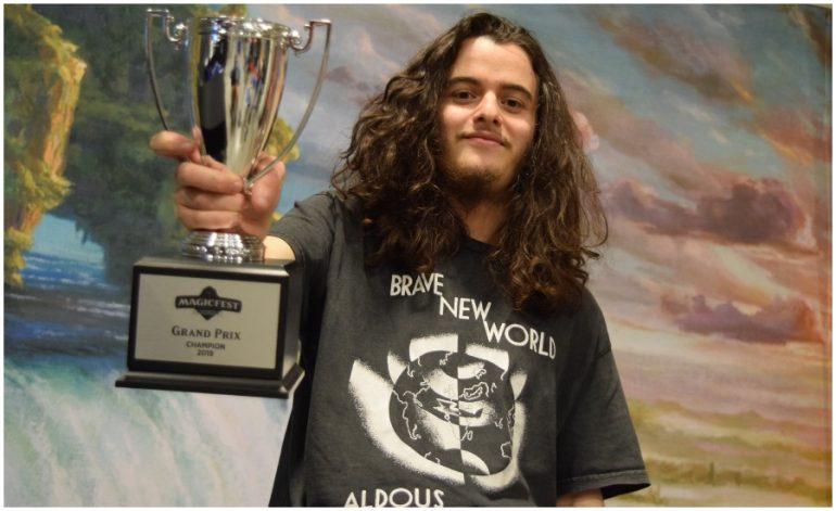 Daniel Goetschel wins MTG Grand Prix at MagicFest Niagara Falls