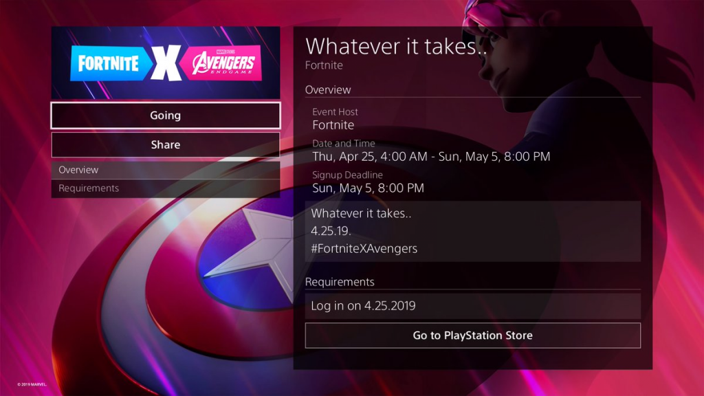 Potential Fortnite x Avengers event end date revealed | Dot