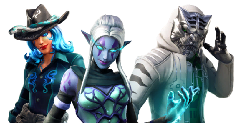 here are the fortnite season 8 overtime challenges and skin variant rewards - blue ember fortnite png