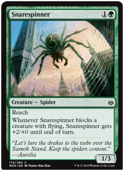 Snarespinner MTG War of the Spark common