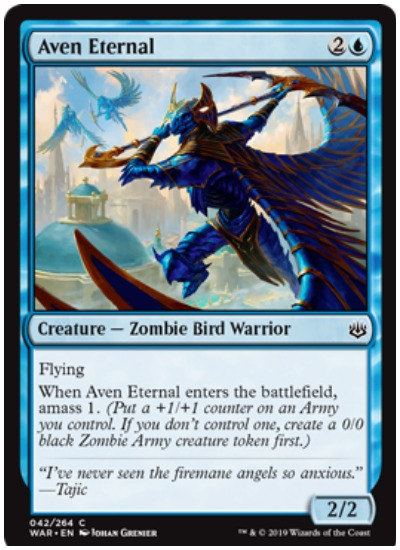Aven Eternal MTG War of the Spark common