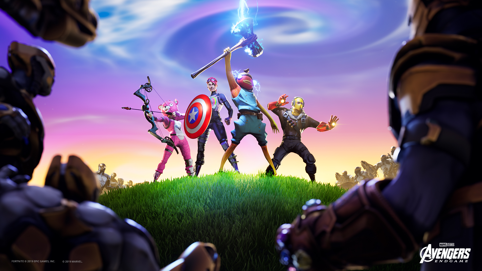 How To Collect Infinity Stones In Fortnite Endgame Ltm Dot - avengers endgame roblox event