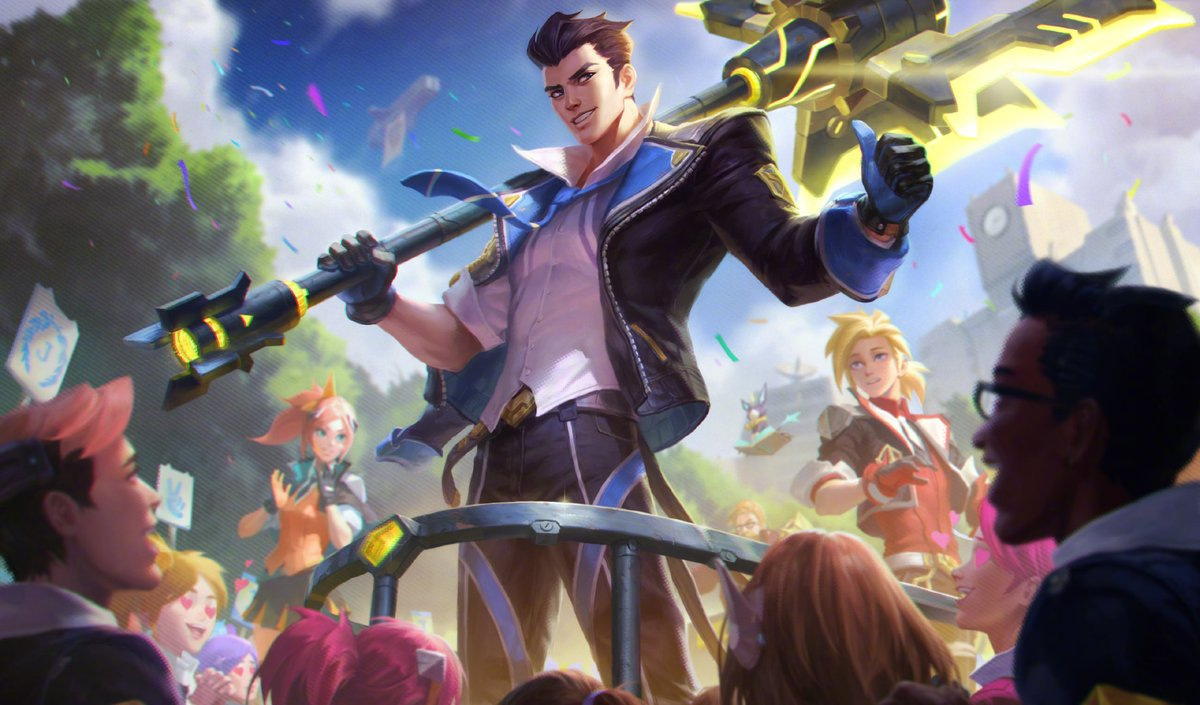New Battle Academia Skins Previewed On League Of Legends Pbe Dot