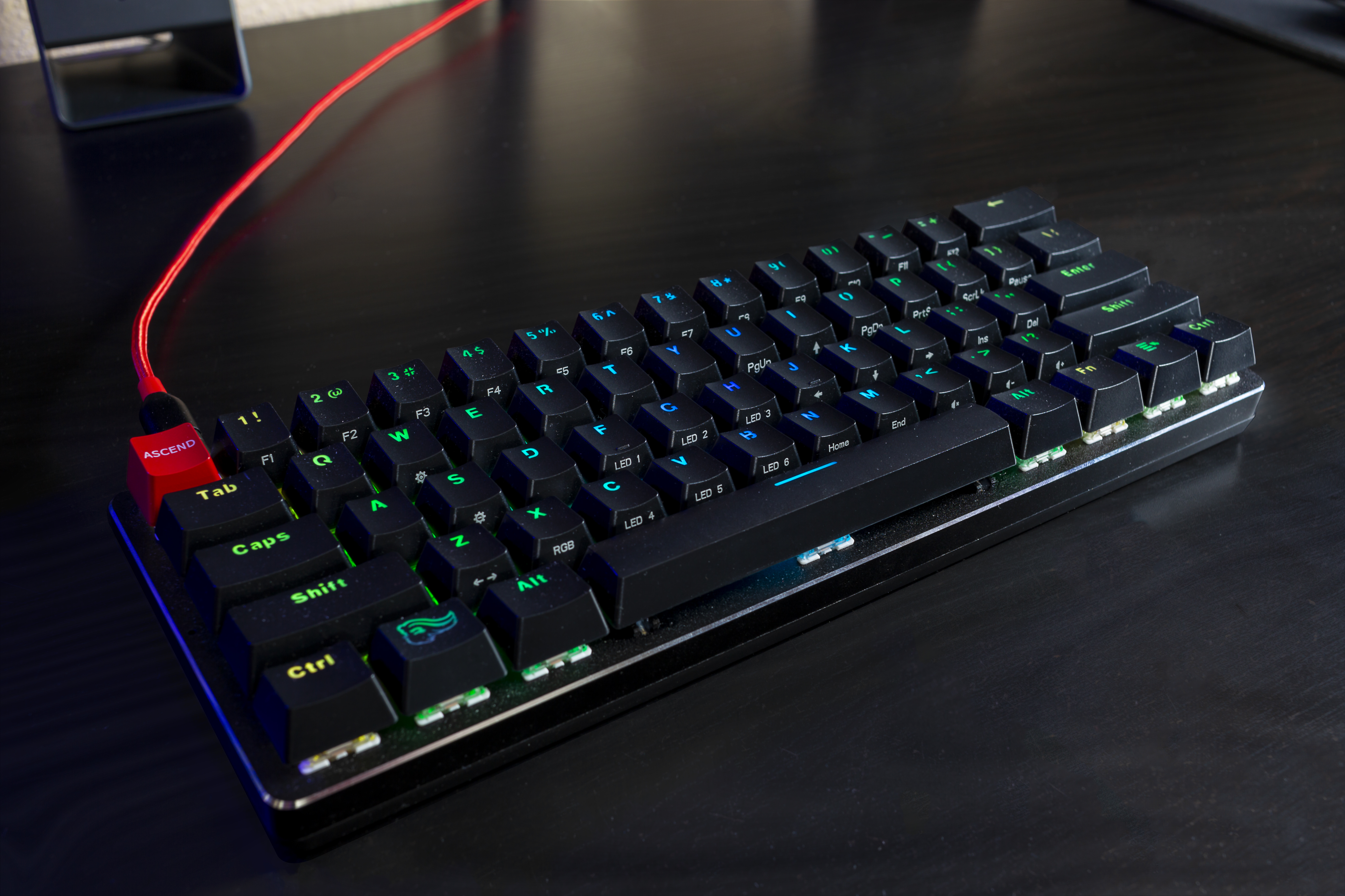 2c6eb1746af GMMK Compact 60 percent keyboard review: A great place to start ...