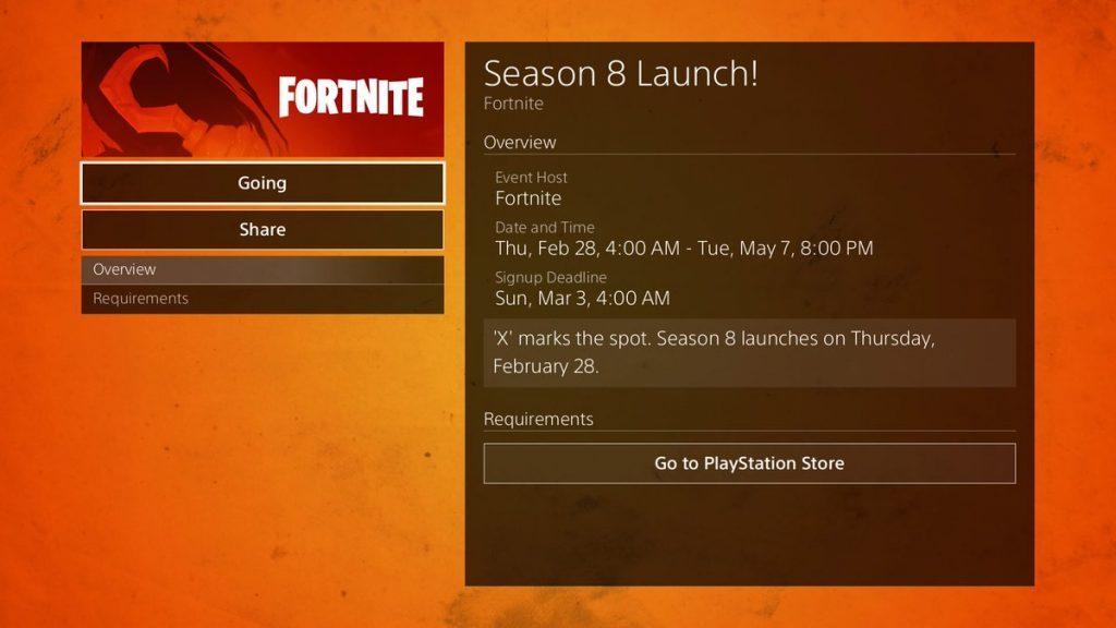 What time does Fortnite season 8 end?   Dot Esports