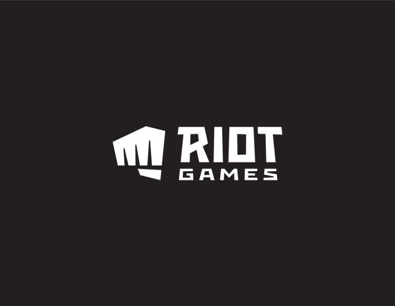 Riot black white logo