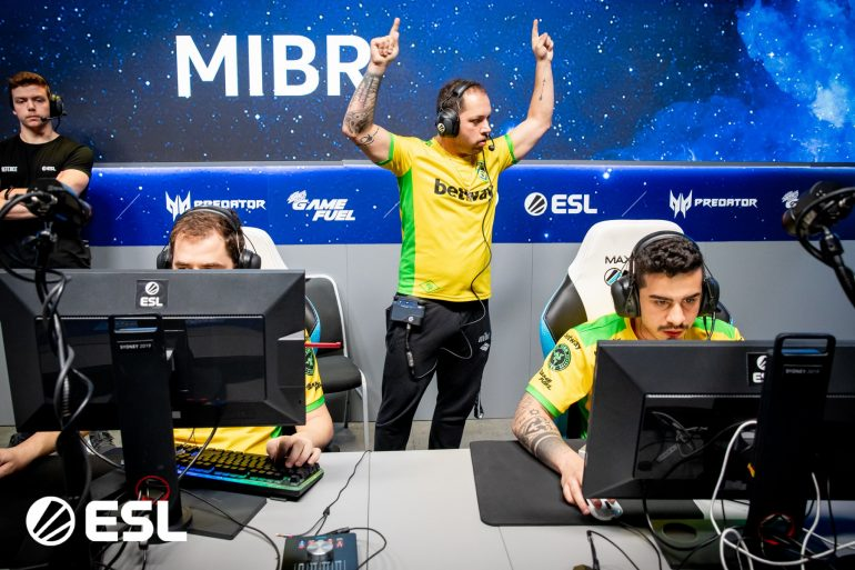 MIBR won against mousesports at IEM Sydney
