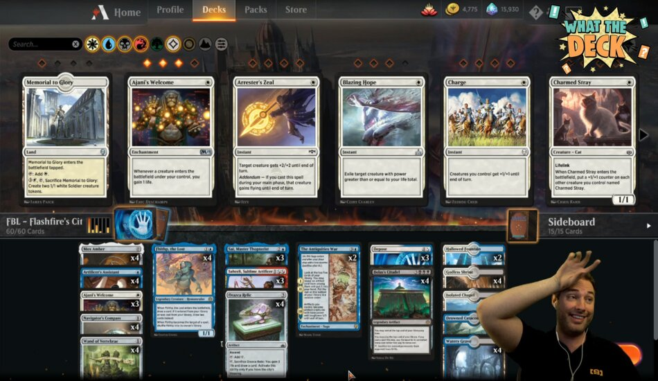 What the Deck Magic the Gathering Twitch series hosted by Day9