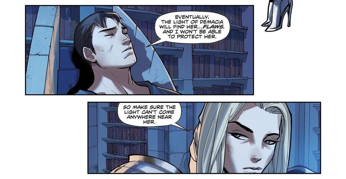 Garen Lux comic