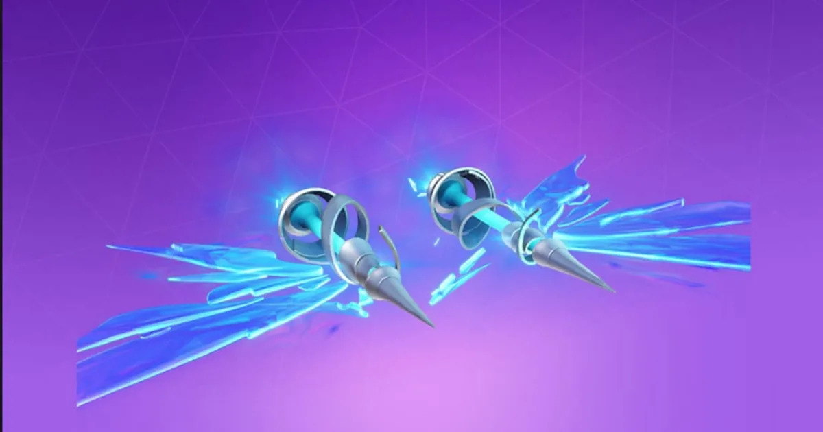 A bug is causing free Fortnite Arcana glider to remove
