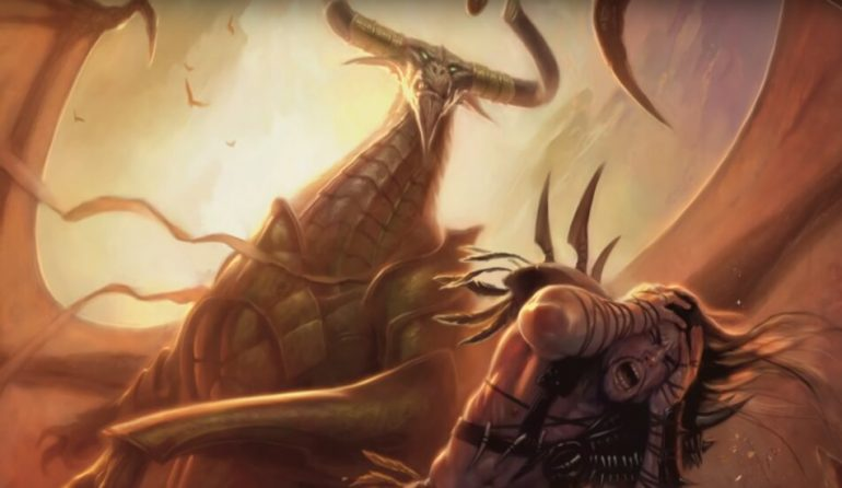 MTG Arena War of the Spark Nicol Bolas