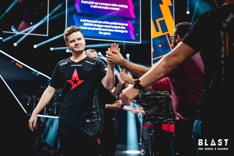 Astralis entrance at BLAST Pro Series Madrid