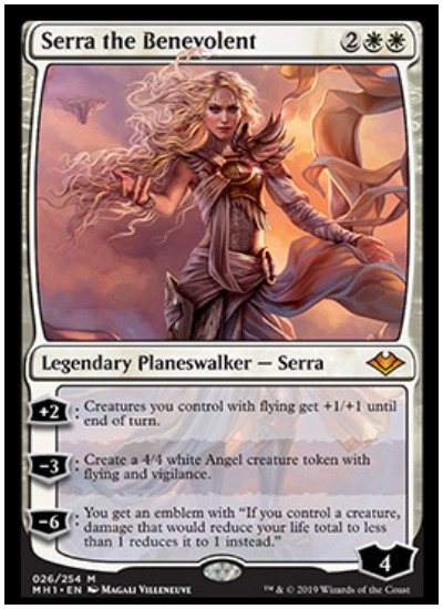 Serra the Benevolent MTG Modern Horizons card reveal