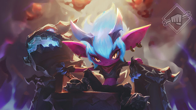 Little Demon Tristana joins the League of Legends PBE | Dot