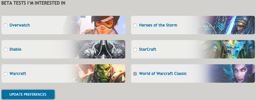 How to sign up for World of Warcraft Classic beta | Dot Esports