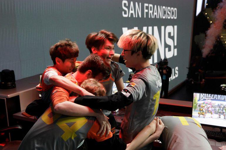 San Francisco Shock wins