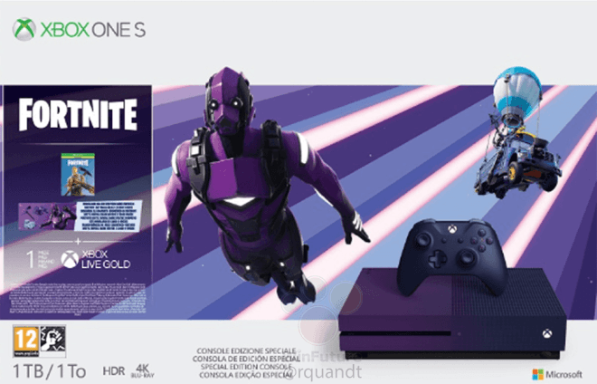 New Fortnite Xbox One S bundle is reportedly coming with