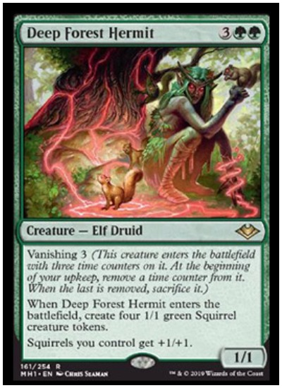 Deep Forest Hermit MTG Modern Horizons rare