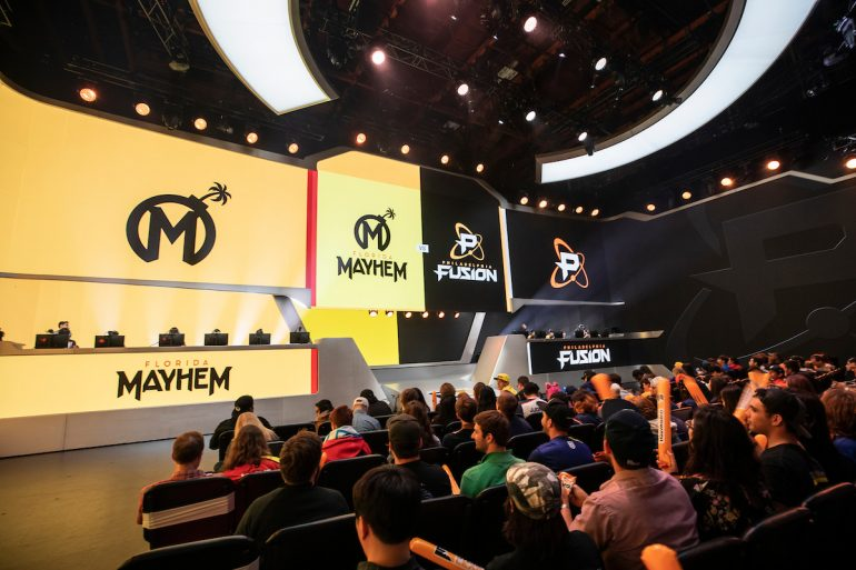Florida Mayhem vs Philadelphia Fusion