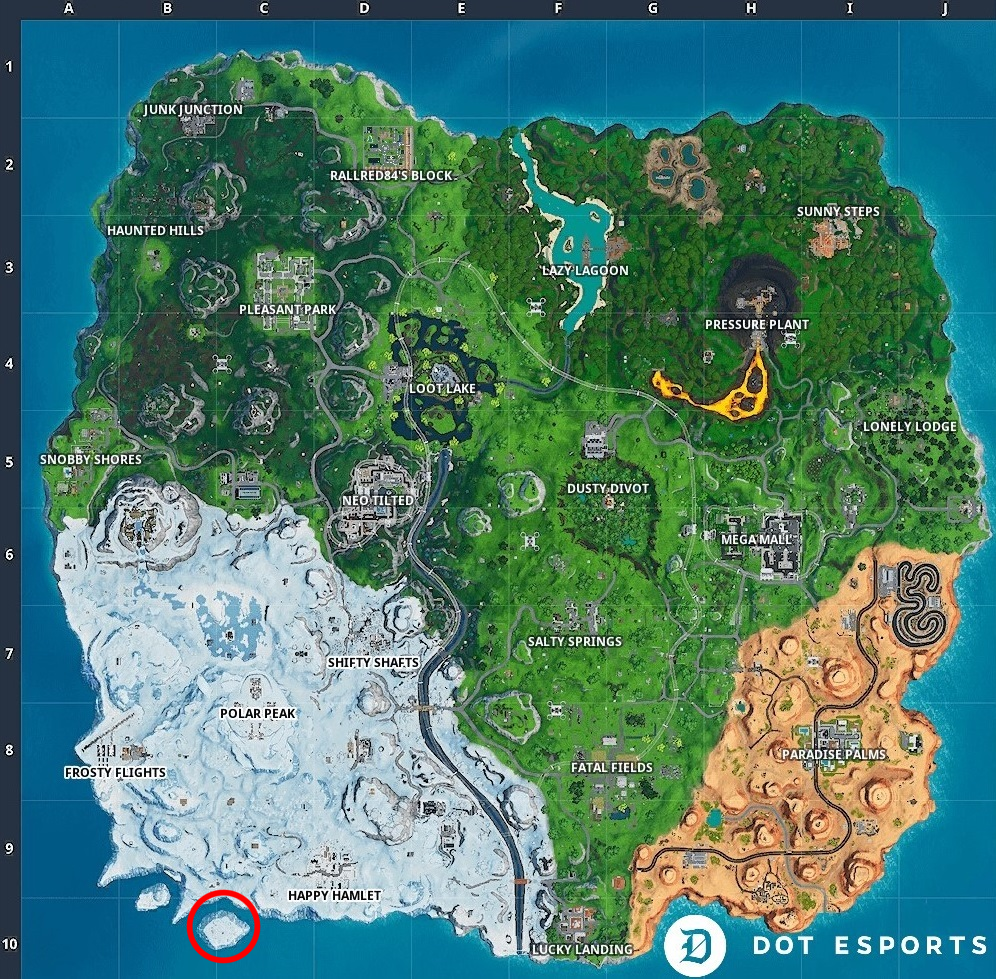 Fortnite Fortbye 26 Location Accessible With The Bunker