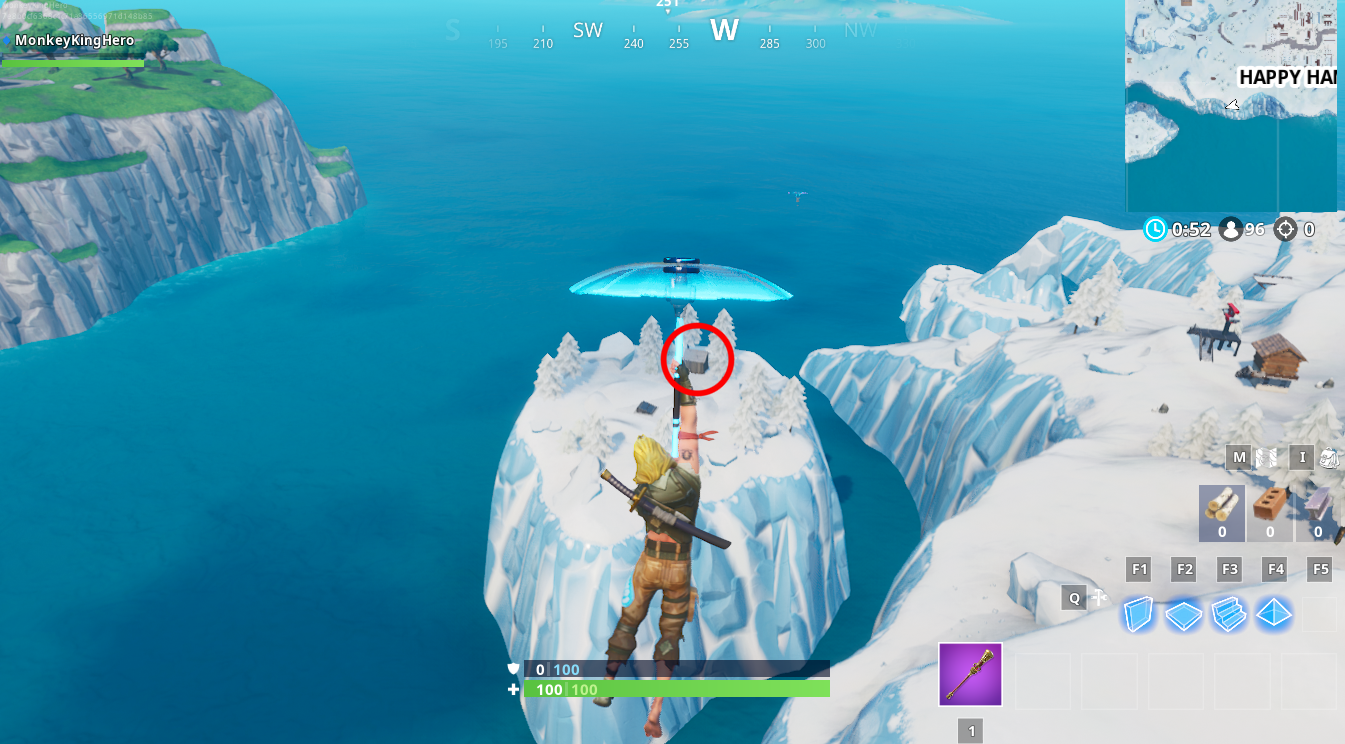Fortnite: Fortbye 26 Location - Accessible with the Bunker Jonesy
