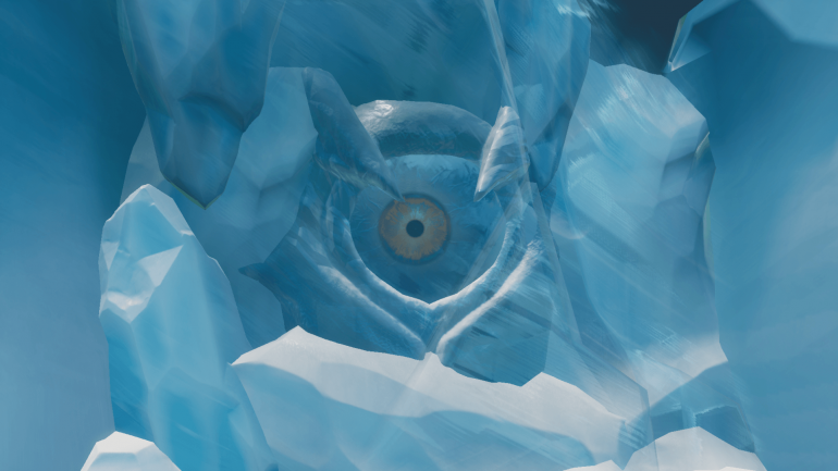 Fortnite's Polar Peak iceberg might have broken and taken the Ice Castle with it