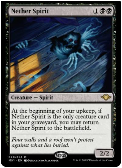 Nether Spirit MTG Modern Horizons