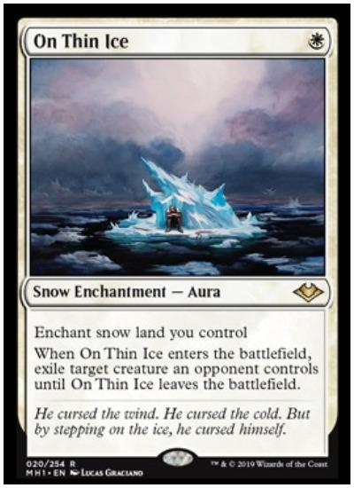On Thin Ice MTG Modern Horizons